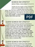 01-Quem Somos Em Cristo