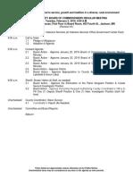 Commissioners Feb. 5 Agenda