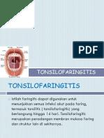 Irena Bangun ( Tonsilofaringitis)