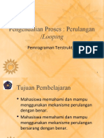 Bab 06 Perulangan