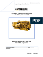 Manual de Certificacion Motores 3500 Caterpillar
