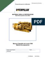 Manual de Certificacion Motores 3500 Caterpillar