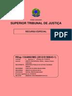 STJ - REsp Nº 1344860 - MG [Íntegra do Inquérito]