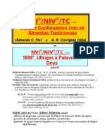 Bíblias NVI e NIV, e Texto Crítico