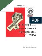 Cuentas NAcionales SIDA VIH