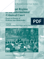 The Legal Regime of the International Criminal Court (International Humanitarian Law) (2009),Jose Doria, Cherif Bassioun.pdf