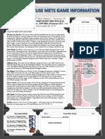Syracuse Mets Game Notes - 4_4_19