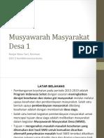 Presentasi MMD SGD 3 2003