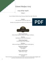Likutey Shuljan Aruj Vol I.pdf