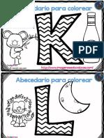 Abecedario Para Colorear ZIG ZAG PDF 11 20