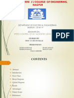 final SMS based SPEED CONTROL OF DC MOTOR_progress seminar-2.ppt