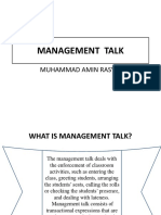 MANAGEMENT TALK.pptx