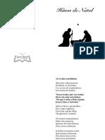 Natal Hinos 2018 - Booklet