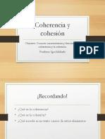 Coherencia y Cohesión 231-DLENG