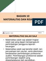 Bab Resiko Dan Materialitas