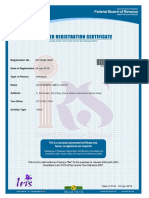 TaxPayer Registration Certificate (8)