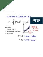 Disk Washer Method