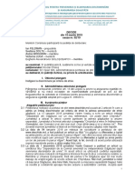 Decizie Constatare 02 2019