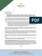 Amendments Press Release Final