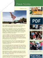 Field Notes From The Meg Whitman Campaign - October 22, 2010