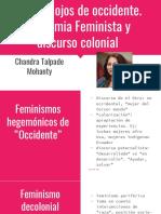 Bajo los ojos de occidente. Academia Feminista y discurso colonial.pptx