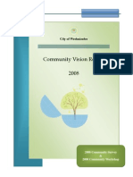 2008 Westminster Maryland Community Vision Survey