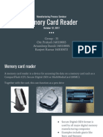 manufacturing of card reader
