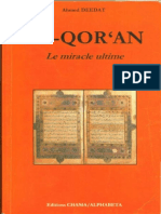 Ahmed Deedat - Coran le miracle ultime.pdf