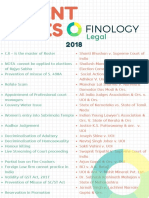 Recent Cases Finology