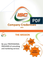 ISC Marketing Company Credentials v4 Eng