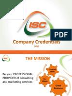 ISC Marketing Company Credentials v4 Eng