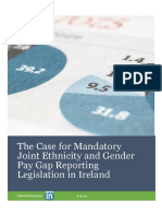 The Case for Mandatory Joint Ethnicity and Gender Pay Gap Reporting Legislation in Ireland