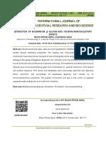 (SUDAH) 2014-EXTRACTION OF MUSHROOM - GLUCAN AND ITS IMMUNOMODULATORY.pdf
