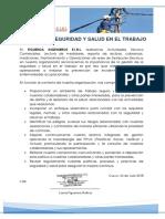 Política SEGURIDAD SALUD EN EL TRABAJO FIGUEROA INGENIEROS.pdf