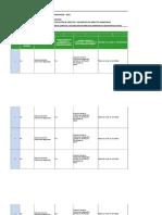 Formato Matriz Identificacion de Aspectos y Valoracion de Impactos Ambientales ANDERSON