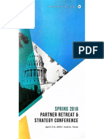 Democracy Alliance Spring 2019 Full Agenda