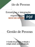 Estratégias e integração organizacional