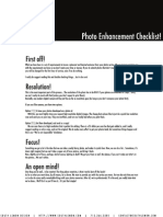 Photo Checklist