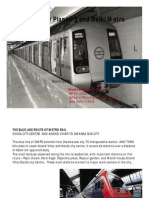 Metro Analysis PREET VIHAR Shashi