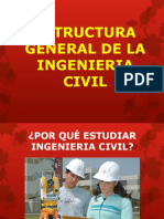 Estructura General de La Ingenieria Civil