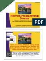 18 Network Programming Servers u 5
