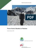 Pakistan GTZ Power Sector Overview