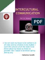 Intercultual Communication -Intro