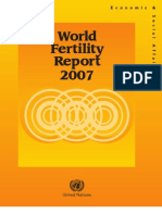 WORLD  FERTILITY  REPORT - 2007