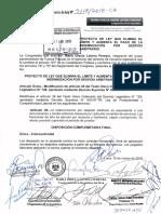 Fuerza Popular propone eliminar el tope a la indemnización por despido arbitrario (PL-4118-2019)