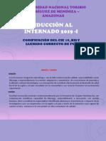 Inducción Al Internado 2019 -I