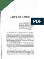 Ferdinand Domela Nieuwenhuis - La débâcle du marxisme (Humanité nouvelle, 1900)