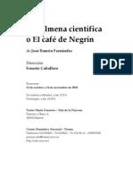 La colmena cientifica o el café de Negrin