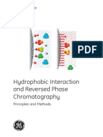 Hydrophobic Interaction and Reversed Phase Chromatography