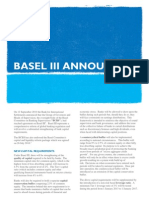 DLA Piper UK Basel III Announced